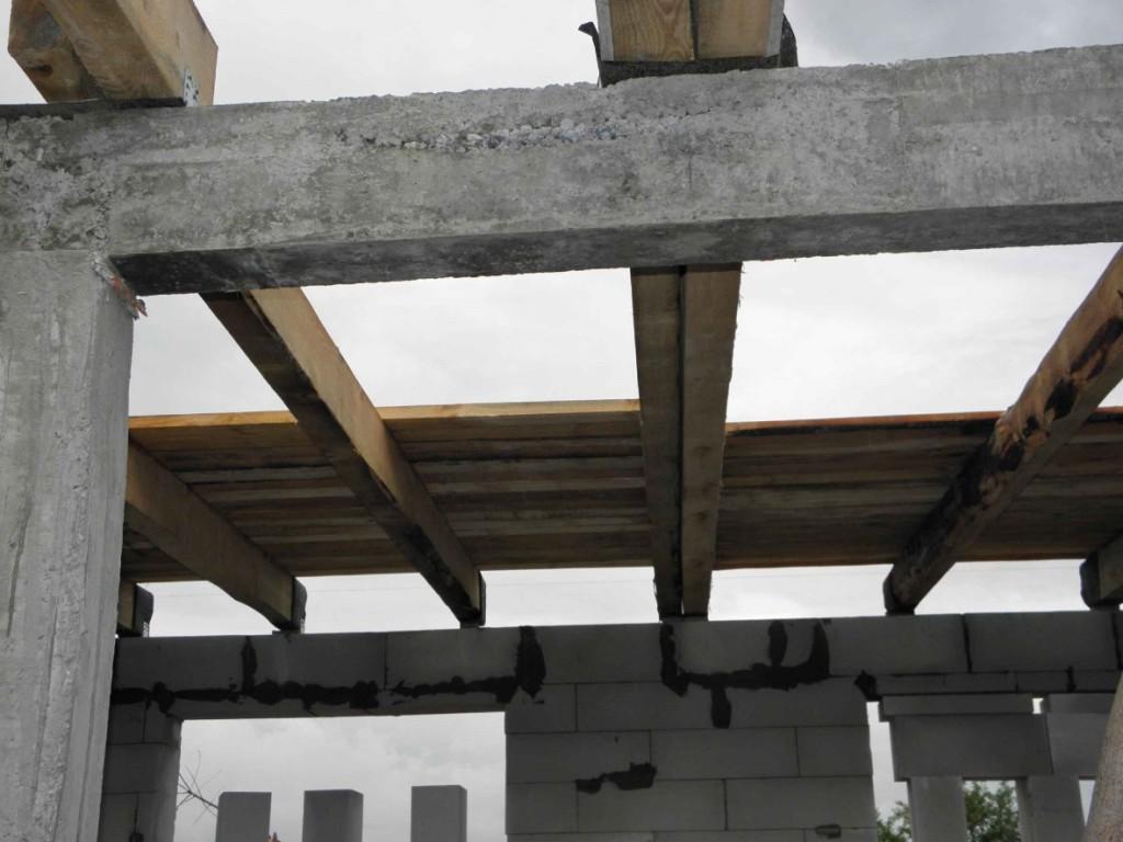 бетонные балки перекрытия своими руками